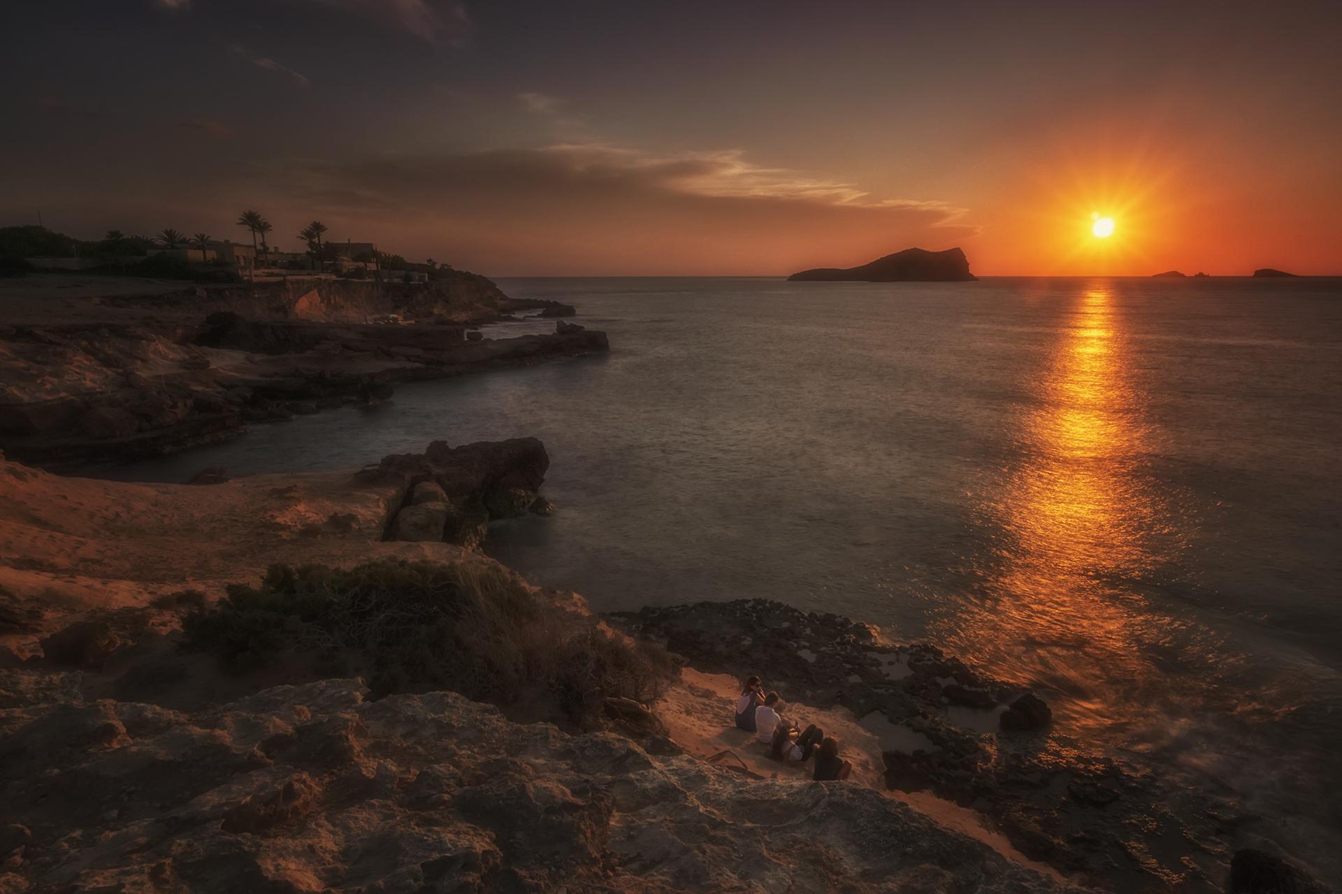 Cala Conta sunset