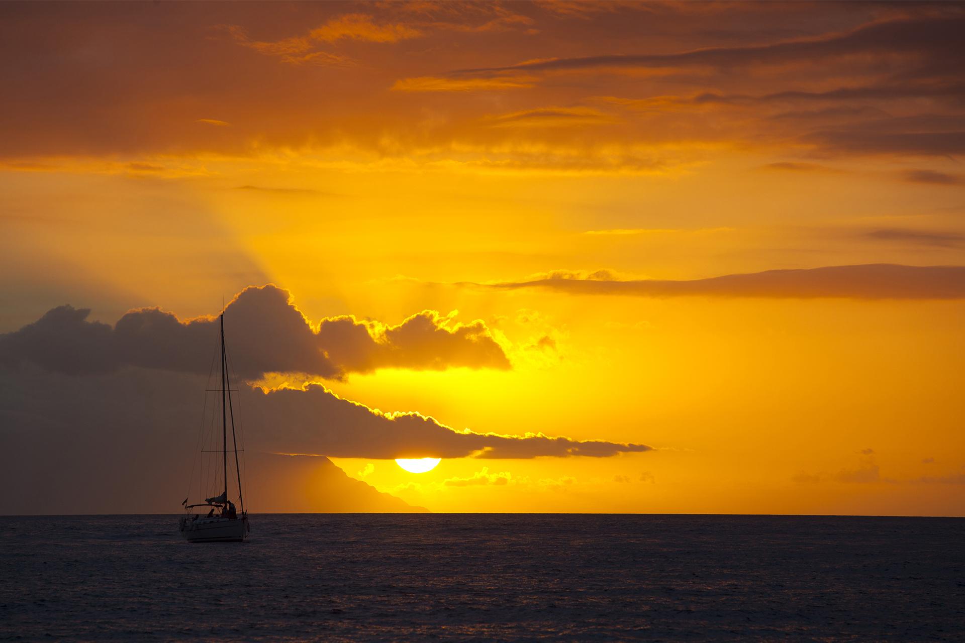 Navegando en el Ocaso