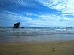 Mañana en la playa de Aguilar